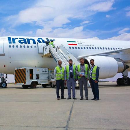 صادرات از پایانه ی فرودگاه اصفهان