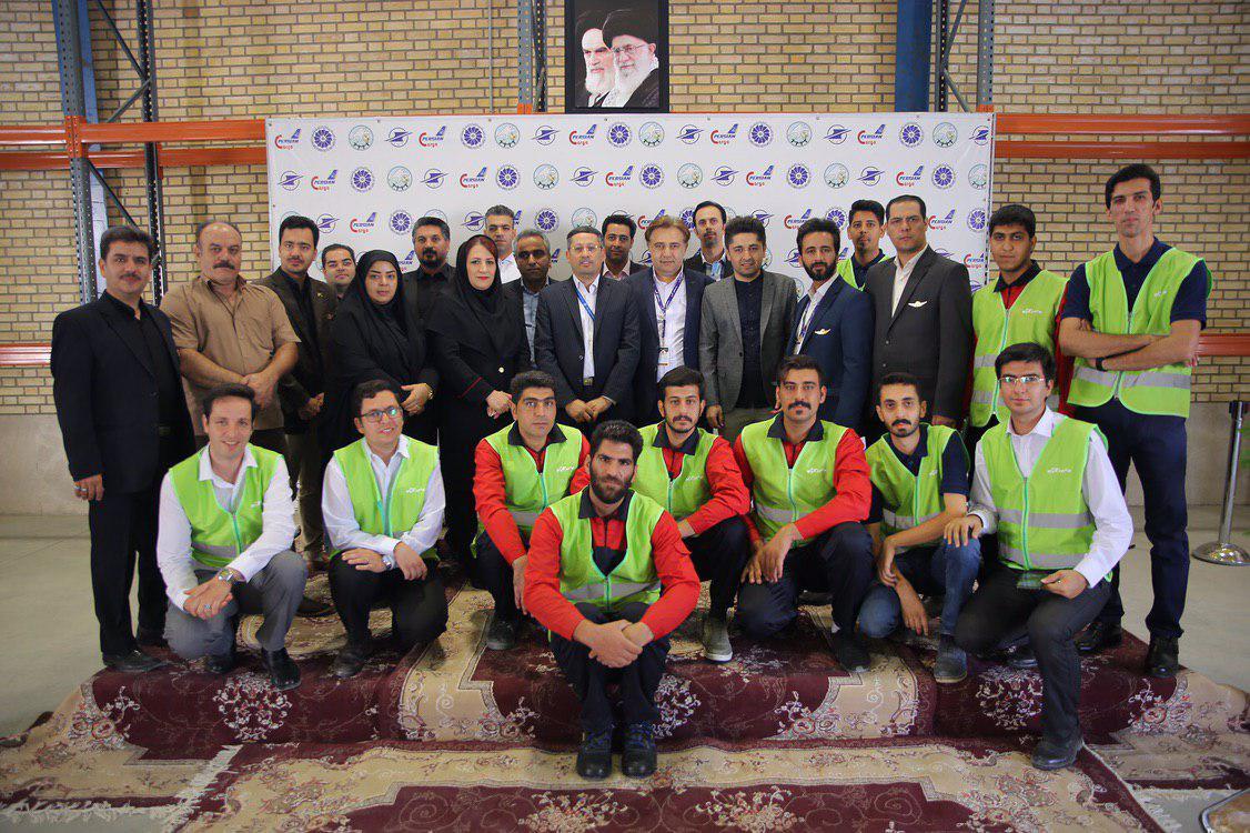 افتتاحیه ترمینال بار فرودگاه شهید بهشتی اصفهان