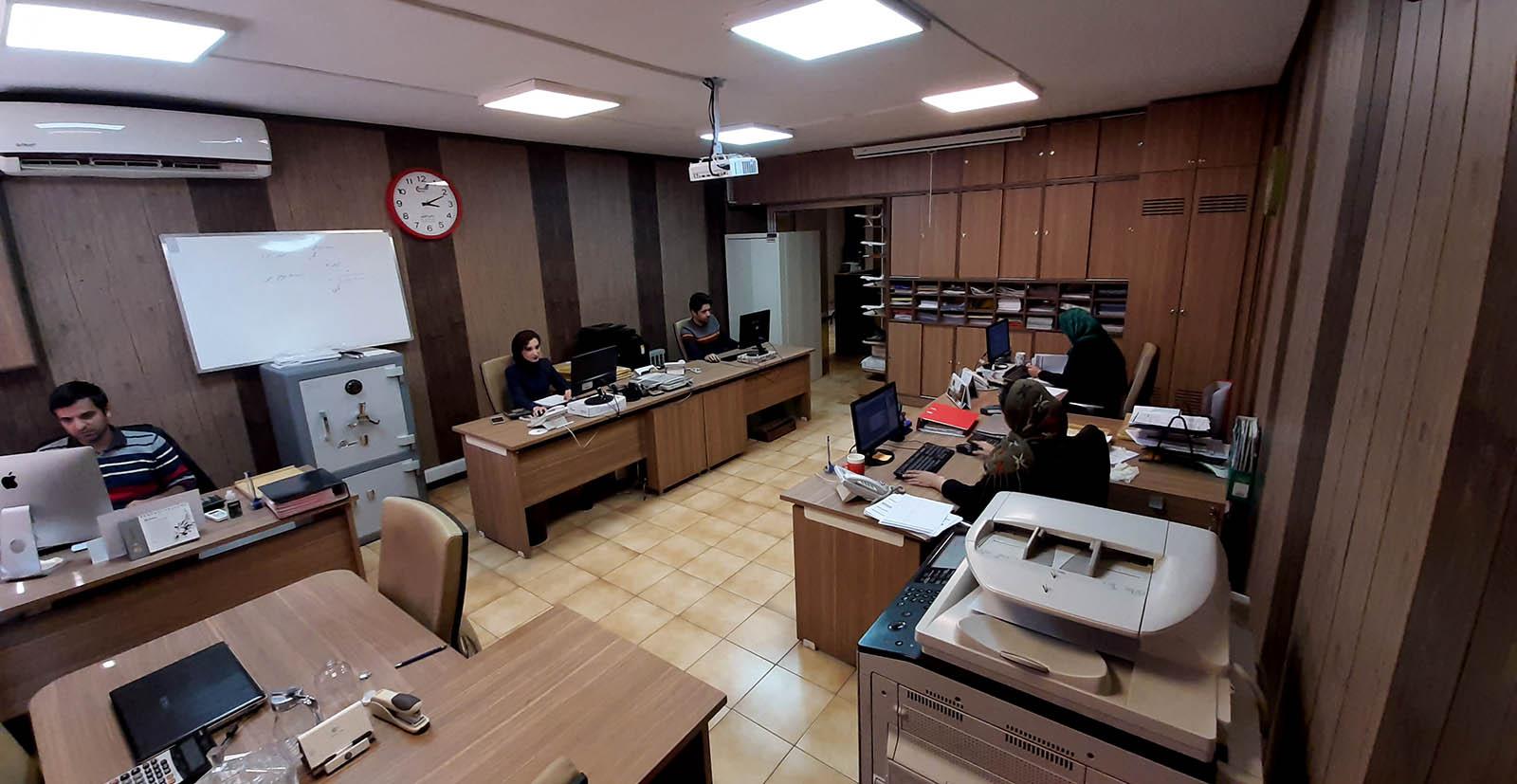 شرکت پرشین کارگو - دفتر مطهری